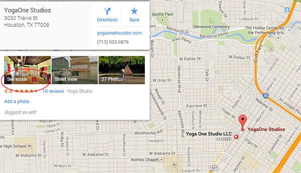 vista360 - Google Maps example